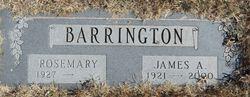 James Albert Barrington