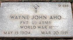 Wayne John Aho