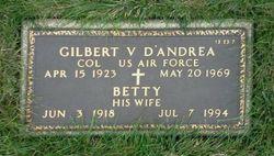 Gilbert V D'Andrea
