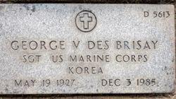 "SGT George Victor ""Vic"" Des Brisay"