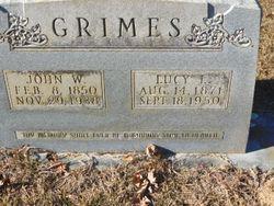 Lucy L <I>Bustin</I> Grimes