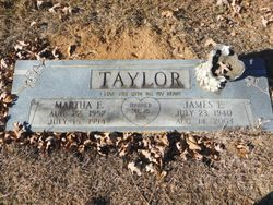 Martha E Taylor