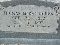 Thomas McRae Honea