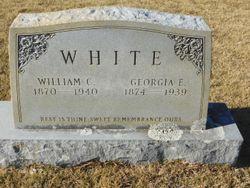 Georgia E <I>Rogers</I> White