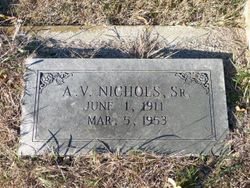 "Angus Vern ""AV"" Nichols, Sr"