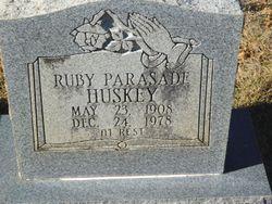 Ruby Parasade Huskey