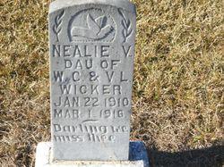 Nealie V Wicker