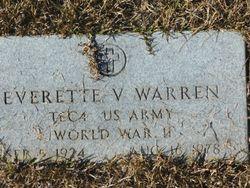 Everette V Warren