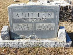 Christine Josephine <I>Holston</I> Whitten