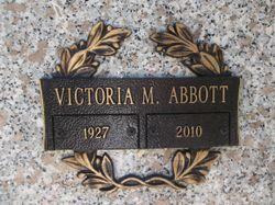"""Mary Victoria """"Vicky"""" <I>Davide</I> Abbott"""