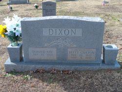 Betty <I>Chilton</I> Dixon