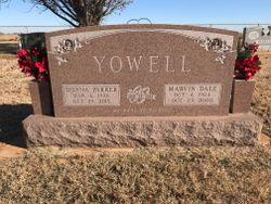 Donna Belle <I>Parker</I> Yowell