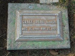 Grace Irene Aaron