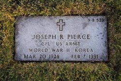 Joseph R Pierce
