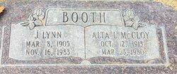 Alta Lyle <I>McCloy</I> Booth