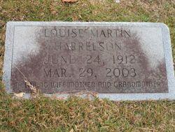 Louise <I>Martin</I> Harrelson