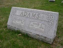 Annie E <I>Heffner</I> Adams