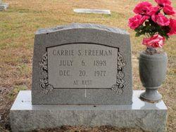 Carrie <I>Sports</I> Freeman