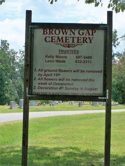 Brown Gap Cemetery