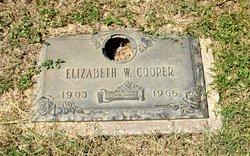 Elizabeth A. <I>Wiedring</I> Cooper