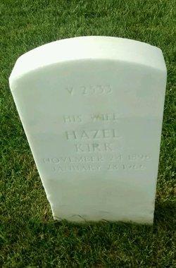 Hazel Kirk <I>Wilcoxen</I> Brown