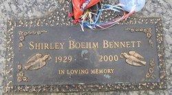 Shirley Boehm Bennett