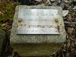 Ethel Gertrude Taylor
