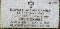 Donald Allan Gamble