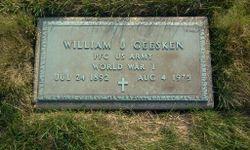 William J Geesken