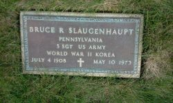 Bruce R Slaugenhaupt
