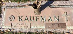 Hyman R Kaufman