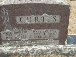 Mary Agustia <I>Cook</I> Curtis