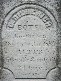 C. Diederich Botel