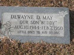 Dewayne D May