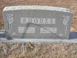 Letha M <I>Sampson</I> Rhodes