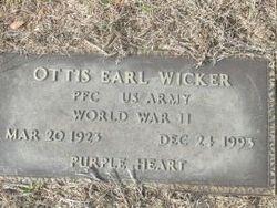Ottis Earl Wicker
