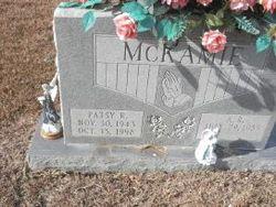 Patsy R <I>Glass</I> McKamie