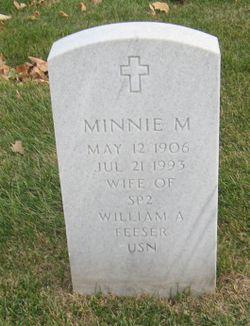 Minnie M Feeser