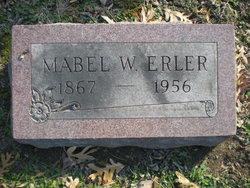 Mabel <I>Wilson</I> Erler