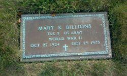 Mary K Billions