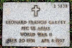 Leonard Francis Garvey