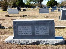Mary Lofon <I>Cowles</I> Burrows