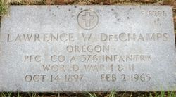 Lawrence Wilbur DesChamps
