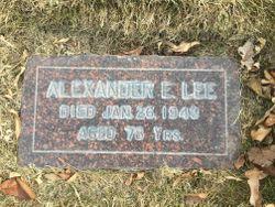 Alexander Edmund Lee