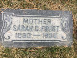 Sarah Carmelia <I>Jorgenson</I> Frost