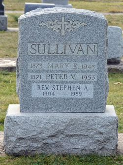 Rev Stephen A. Sullivan