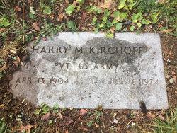 Harry M Kirchoff
