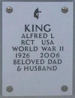Alfred L King