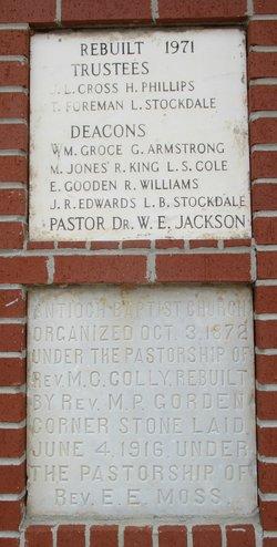 Antioch Baptist Church Cemetery #2