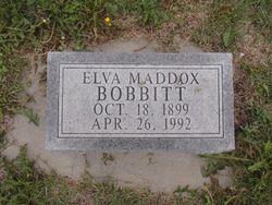 Elva <I>Maddox</I> Bobbitt